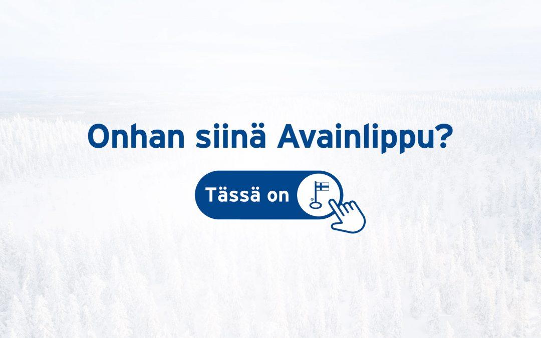 TALVEA mukana Onhan siinä Avainlippu -kampanjassa